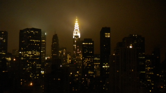 Chrysler Building and Manhattan Skyline