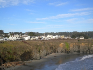 view of Mendocino