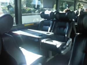 Inside Work Shuttle