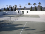 Tennis Courts at Hearst Castle