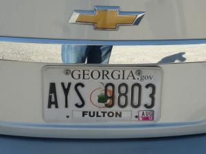 Georgia.gov plate